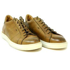Sneakers in vitello Wembley Verde