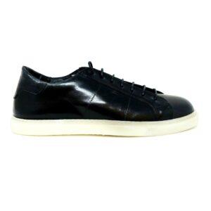 Sneakers in vitello Nappa Blu
